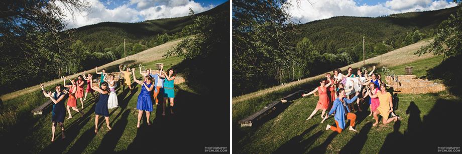 Photographe mariage fun original champêtre le chauffour sainte